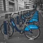 image of london cycle hire scheme, courtesy of Rafe Abrook
